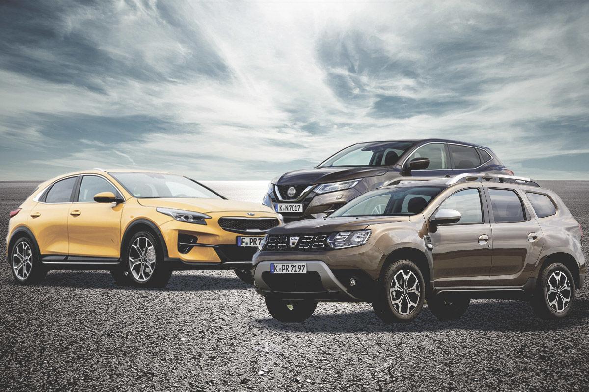 Preis-Leistungs-Sieger: kompakte SUV