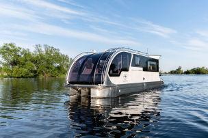 Wohnwagen oder Boot? Beides!