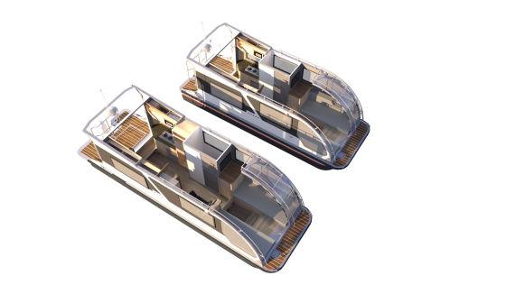 Ein Wohnmobil oder lieber ein Boot? Beides!