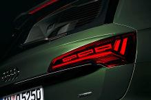 Audi Q5 OLED-Rückleuchten