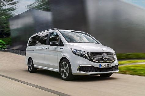 Mercedes EQV (2020): Preise, Reichweite, Batterie,