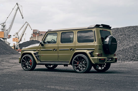 Widebody G-Klasse im Army-Look