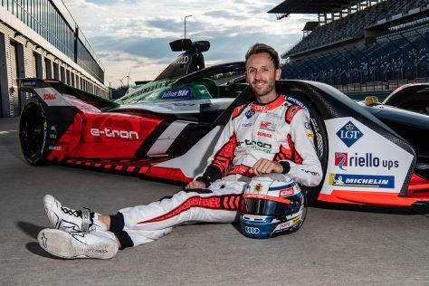 Formel E: Interview mit René Rast