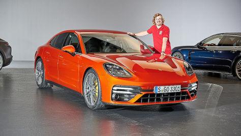 Porsche Panamera Facelift (2020): Test