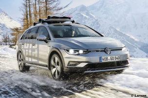 VW Golf 8 Alltrack (2020)