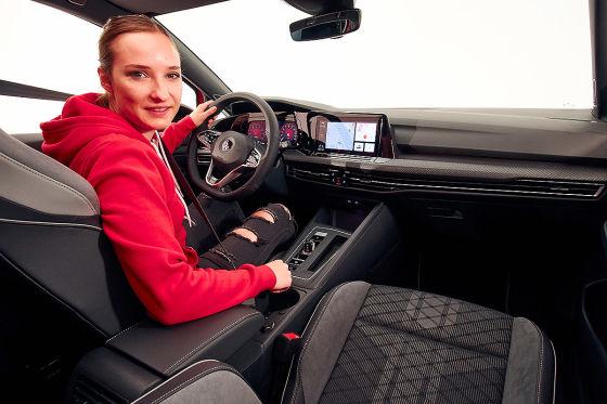 So viel Platz! Der neue VW Golf Variant rückt näher an den Passat