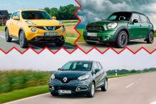 Welches Mini-SUV kann beim TÜV überzeugen?