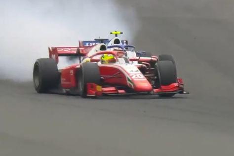 Formel 2: Kollision mit Teamkollege