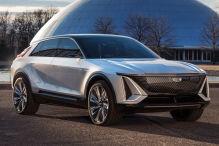 Cadillac stellt mit seinem Lyriq das erste E-SUV vor