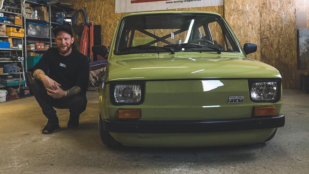 Dieser ultra kleine Fiat zieht die Blicke auf sich