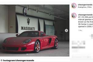 Wurde dieser Carrera GT vergessen?