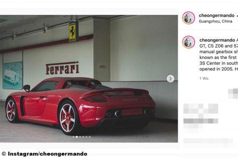Porsche Carrera GT: Scheunenfund, verlassen