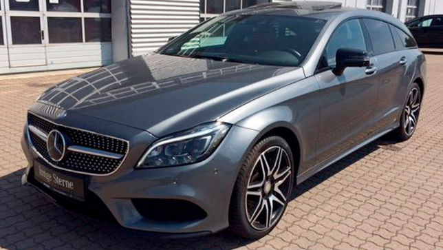 Mercedes CLS Shooting Brake mit V8 und wenig Kilometern