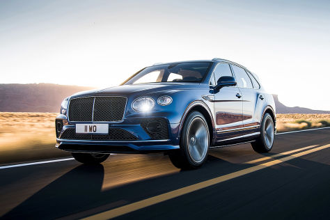 Bentley Bentayga Speed (2020): SUV, W12