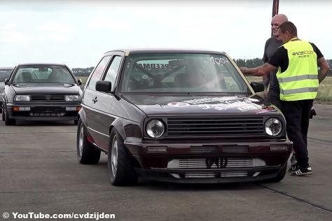 VW Golf 2: Tuning, Topspeed, Race 1000