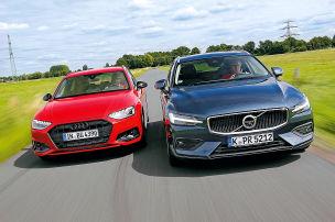 Audi A4 Avant, Volvo V60: Test, Motor, Preis