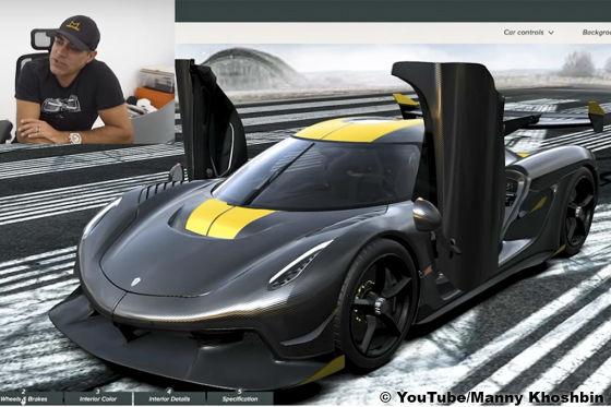 Die Carbonfelgen des Koenigsegg Jesko kosten mehr als ein AMG C 63