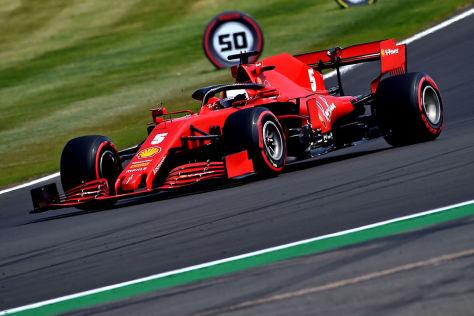 Formel 1: Vettel vor Spanien Grand Prix