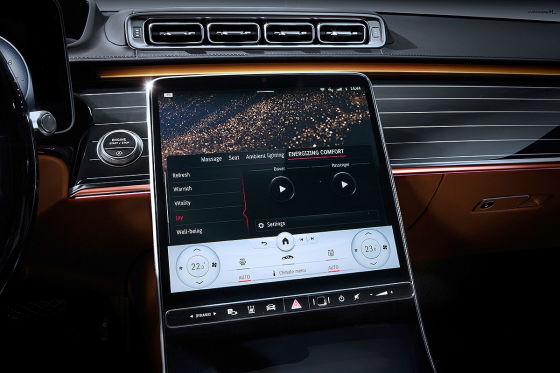 Die neue Mercedes S-Klasse ersetzt den Entspannungs-Coach