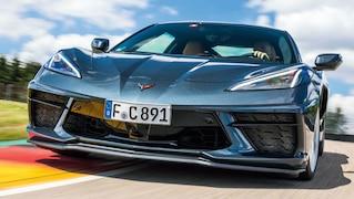 Kurven jagen in der neuen Corvette
