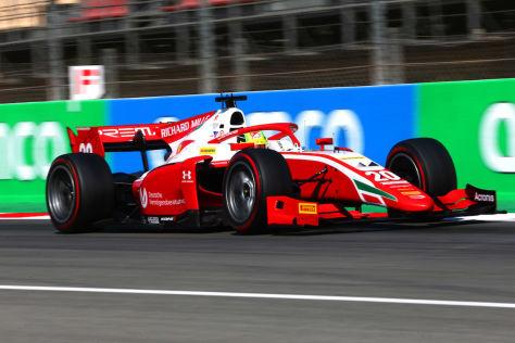 Formel 2: Japaner gewinnt