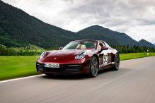Genussfahrt im 911 Targa 4S Heritage
