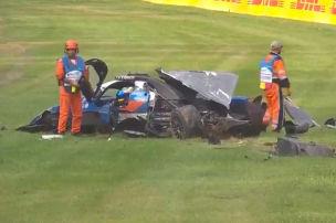 Toyota siegt, heftiger LMP2-Crash