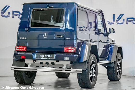 Das ist der günstigste gebrauchte Mercedes G 500 4x4 hoch zwei!