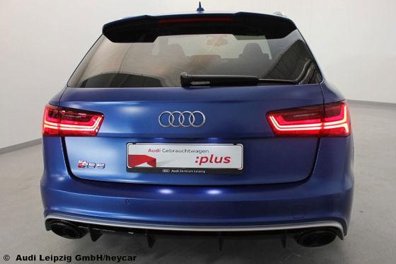Audi RS 6 exclusive mit 110.000 Euro Wertverlust zu verkaufen