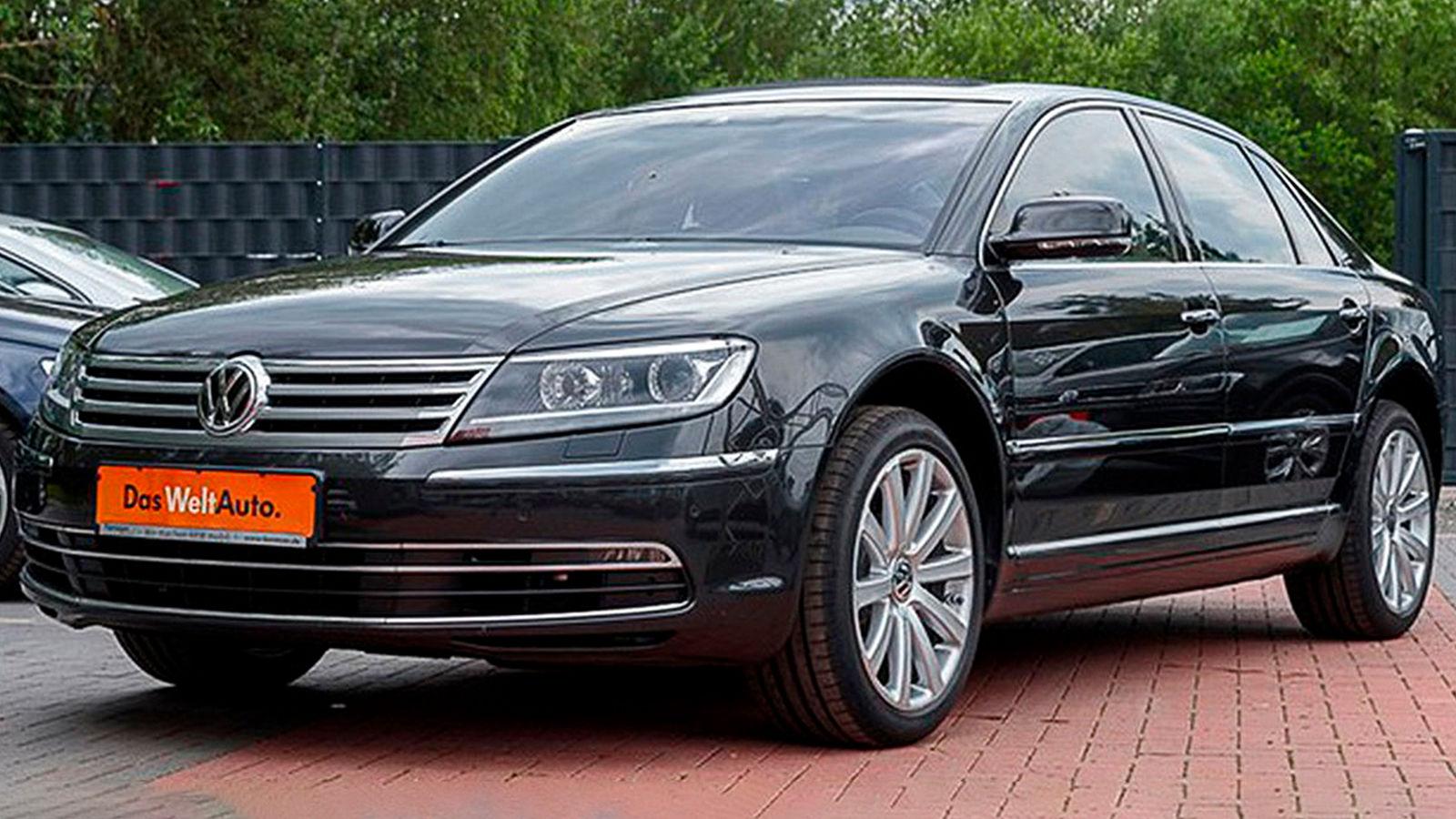VW Phaeton 4.2 V8 (2015): gebraucht - Preis - Limousine