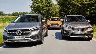 Audi Q3, BMW X1, Mercedes GLA: SUV-Test