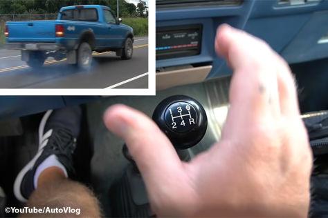 Ford Ranger (1994): Rückwärtsgang bei über 70 km/h