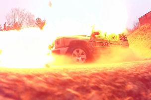 Dieser Brabus-Benz h�lt Minen stand