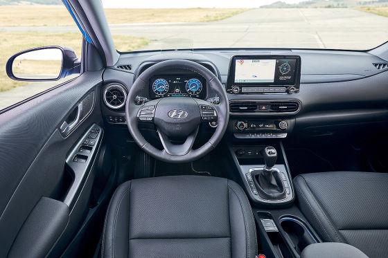 Hyundais Mini-SUV Kona bekommt ein sportliches Facelift