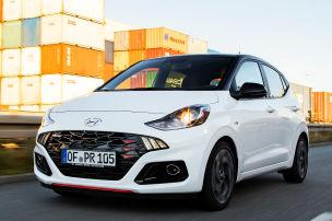 Hyundai i10 N Line 1.0 T-GDI im Test