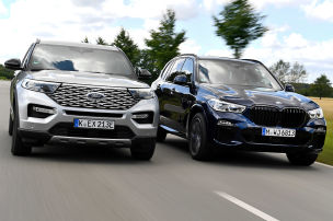 Ford Explorer vs. BMW X5: SUV-Test