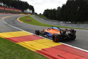 McLaren testet Unterboden f�r 2021