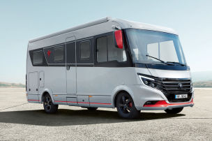 Luxus-Mobil unter 3,5 Tonnen