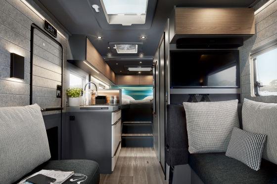 Vollintegriertes Luxus-Mobil unter 3,5 Tonnen