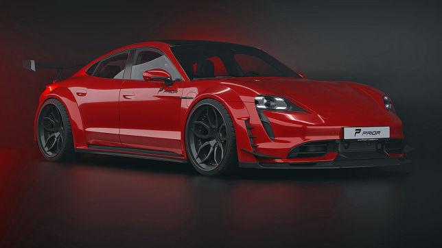 Porsche Taycan: Prior Design