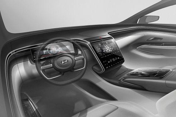 Erste Teaser: Hyundai Tucson bekommt eine komplett neue Front