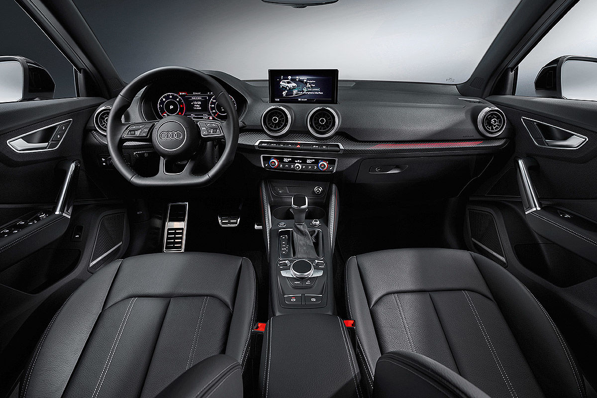 Neue Fahrassistenten für gelifteten Audi Q2