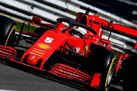Formel 1: Ferrari-Normalform in Monza