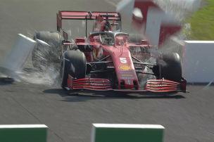 Vettel: Bremsversagen bei Tempo 300!