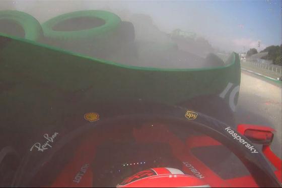 Leclerc mit Mega-Crash!