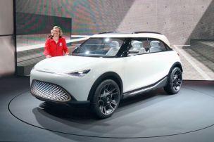 Smart zeigt Studie zum ersten SUV