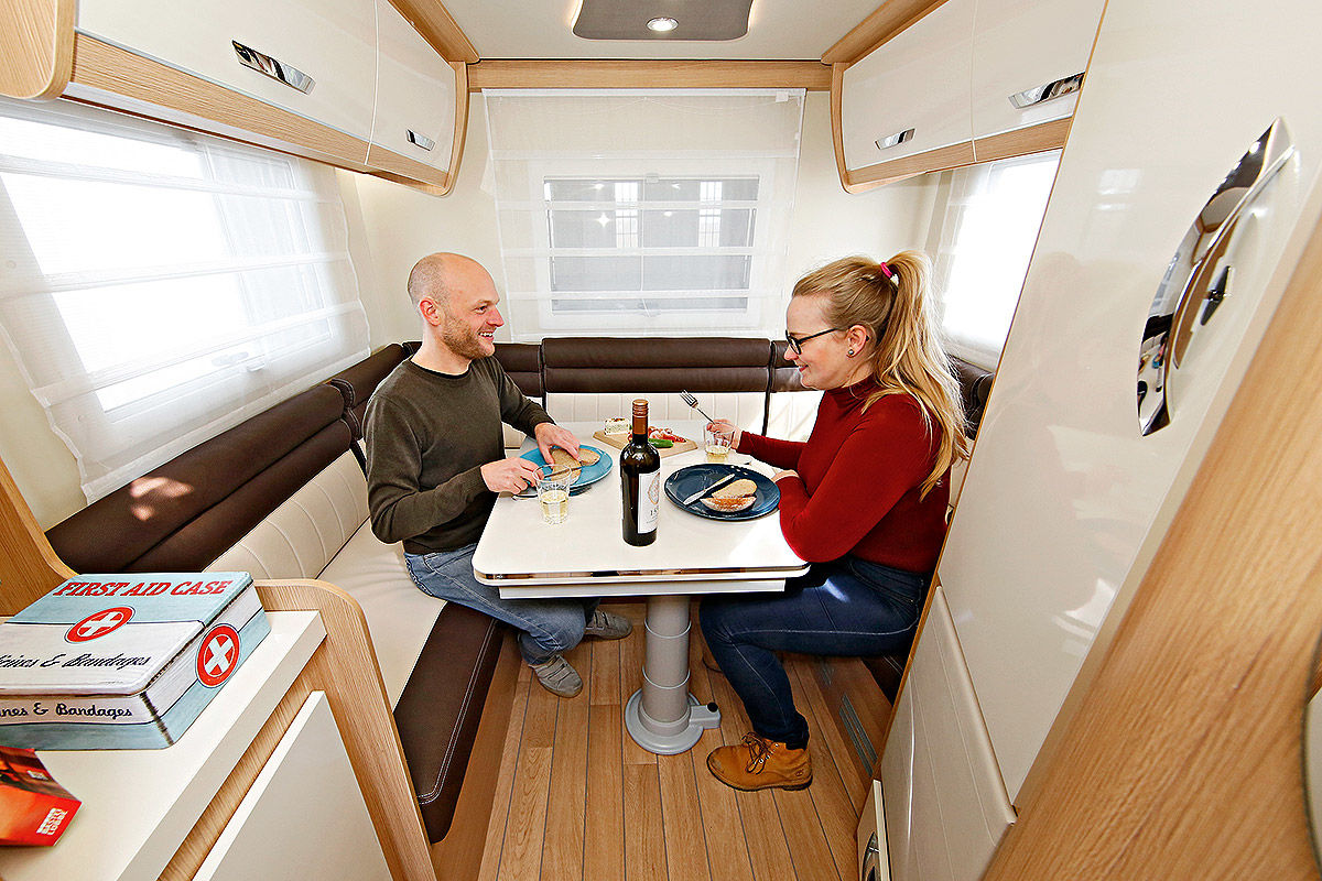 Wohnmobil-Test Forster T 649 HS, Hobby Optima Ontour Edition