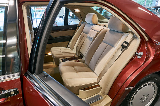 29 Jahre alter Mercedes 600 SEL im Neuzustand zu verkaufen