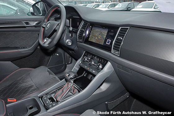 Neuwertiger Skoda Kodiaq RS für 13.000 Euro unter Neupreis