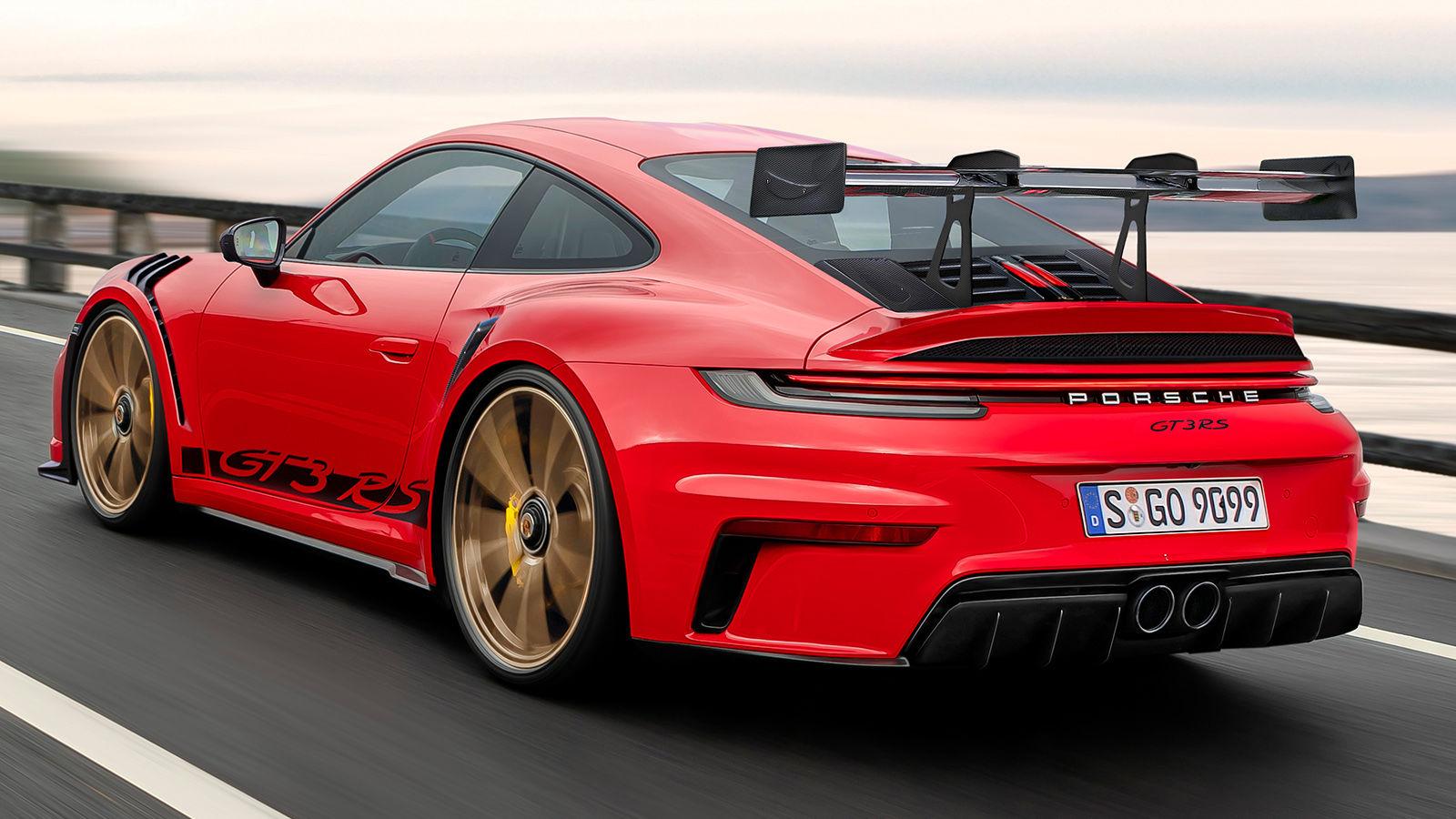 Porsche 911 GT3 RS (2021): Skizze - 992 - Neuvorstellung ...